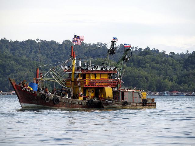 Fishing boat, Malaysia.