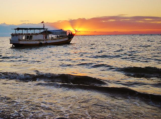 Fishing boat in Timor Leste