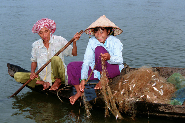 Small-scale fisheries, Tonle Sap, Cambodia