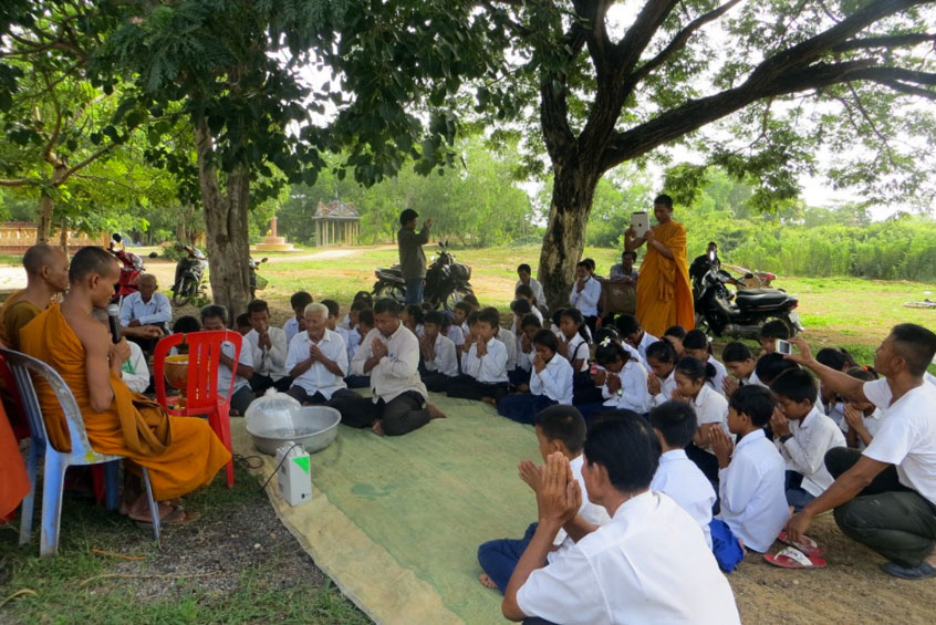CFR awareness session, Cambodia.