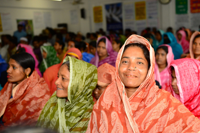 Fisher Women Congress, Bangladesh. 2016.