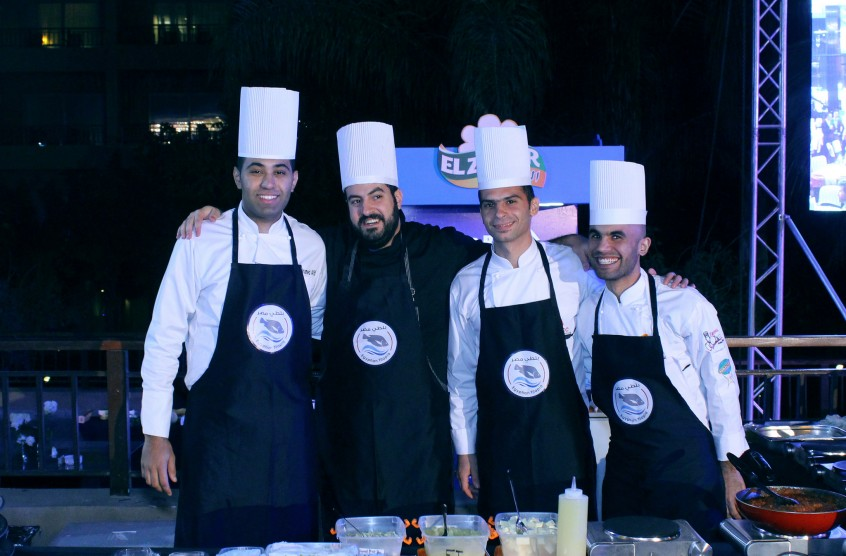 Egyptian chefs, La Cuisine event. Photo by Mohamed Hassan, 2016.