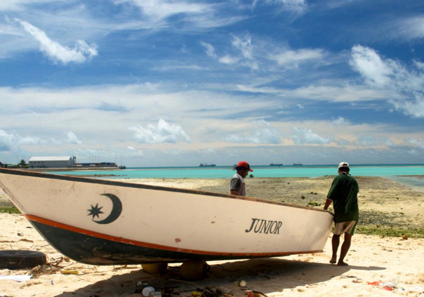 Kiribati tuna fishers, Republic of Kiribati.