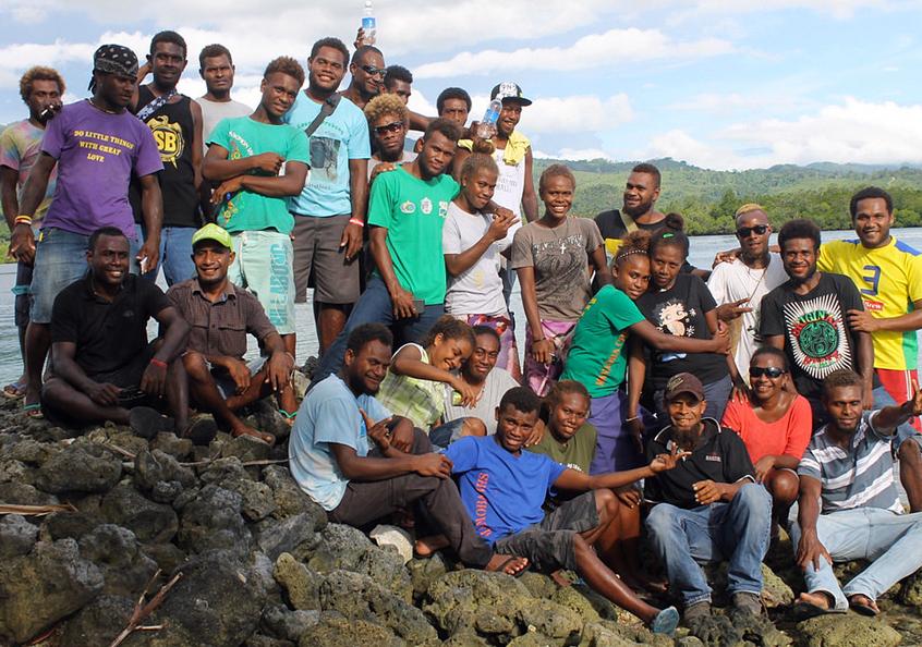 CBRM training participants, Solomon Islands.