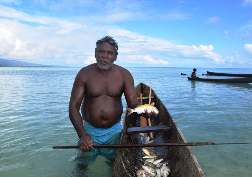 Fisher, Solomon Islands. Jan van der Ploeg, 2016.