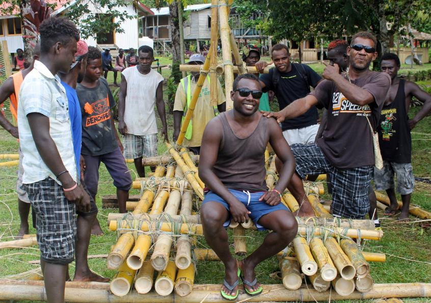 Look & learn trip, Solomon Islands.