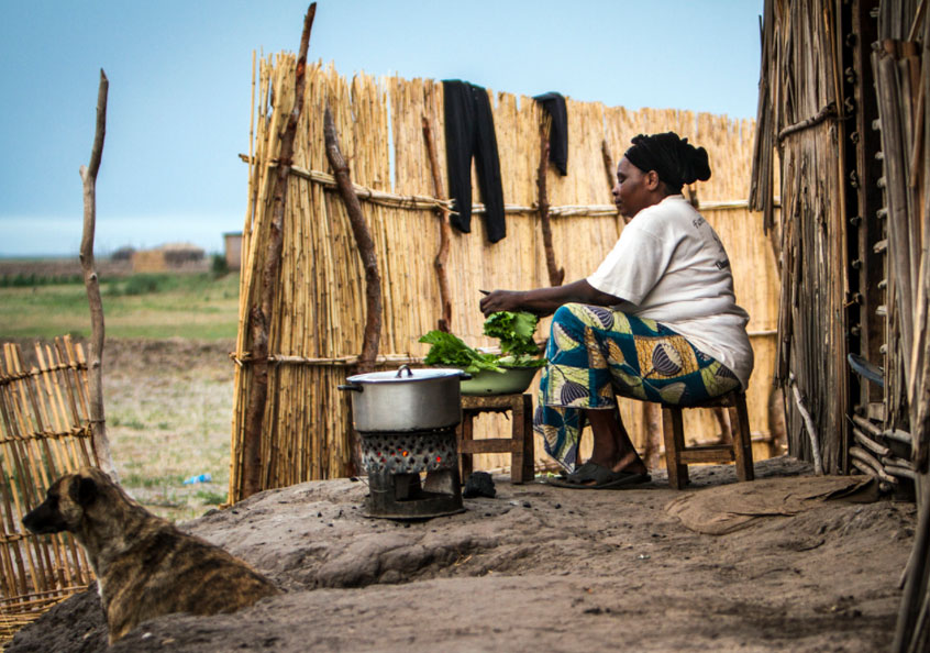 Nutrition conscious for balanced diet, Mongu, Western Zambia.