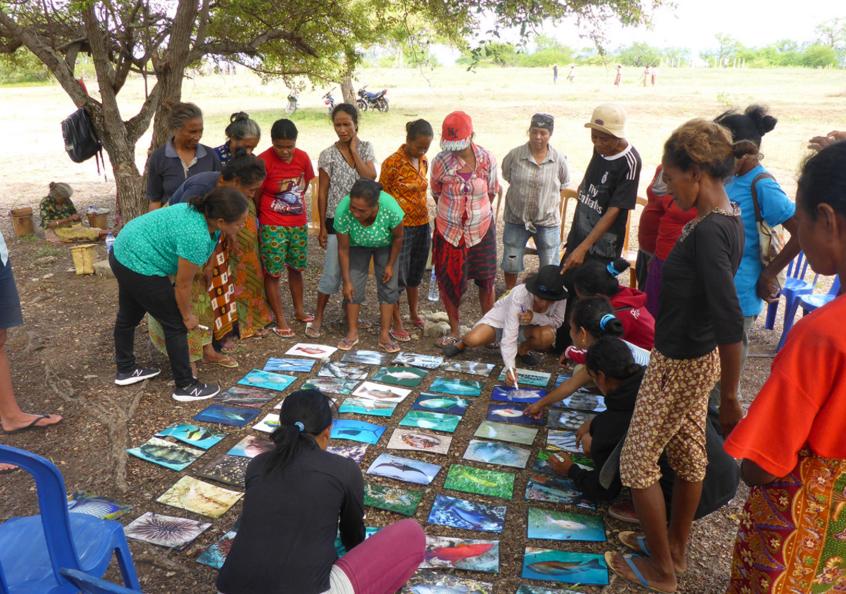 Womens focus group, Timor-Leste.