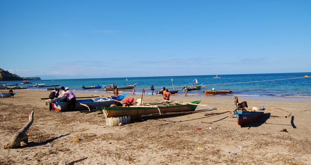 Fishing boats in Timor-Leste. Photo by Jennifer King.