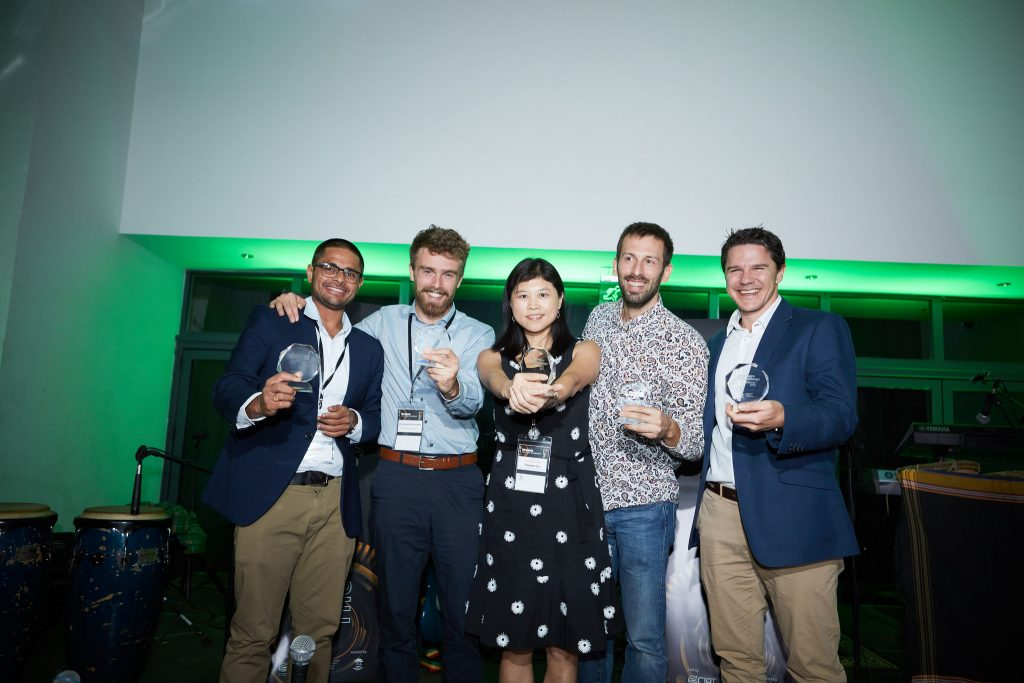 Winners of the CGIAR Big Data in Agriculture Convention's 2018 Inspire Challenge.
