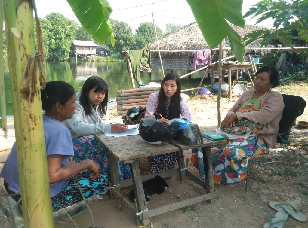 aquaculture systems research in Myanmar