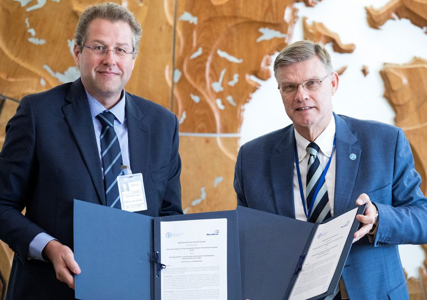 WorldFish signs agreement with FAO