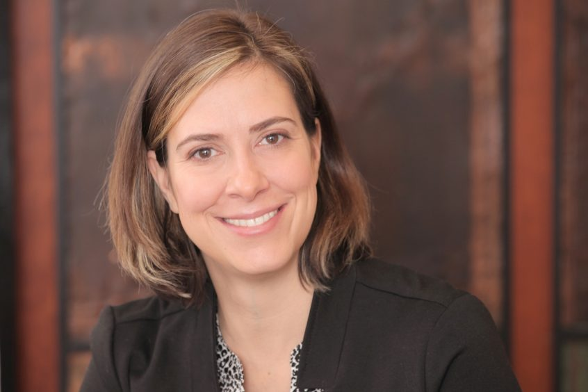 Dr. Cristina Rumbaitis del Rio has a background in climate change resilience